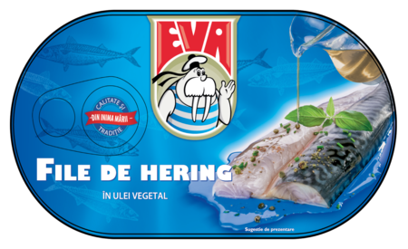 Eva File de hering in ulei vegetal