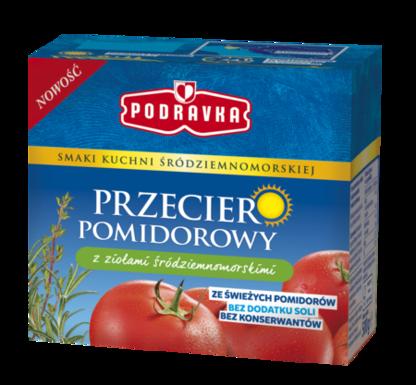 Przecier Pomidorowy Z Ziołami śródziemnomorskimi Podravka