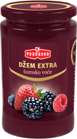 Jam extra forest fruit