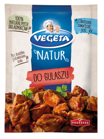 Vegeta Natur do gulaszu