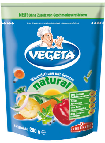 Vegeta natural