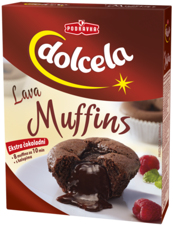 lava muffins recept
