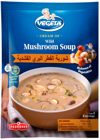 Vegeta Cream of Wild Mushroom Soup